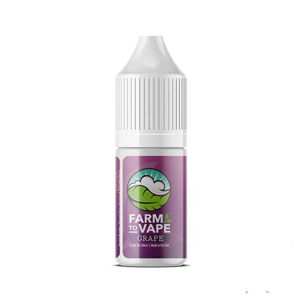 Farm to Vape Flavoured Thinner 10ml (Grape)