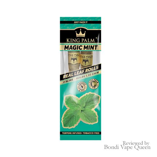 King Palm Mini Leaf Rolls in Magic Mint