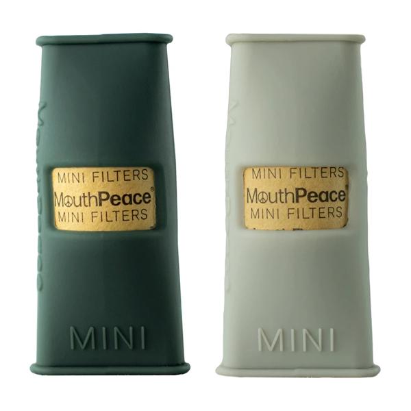 MouthPeace Mini Starter Kit in Smoke/ Charcoal colorway.