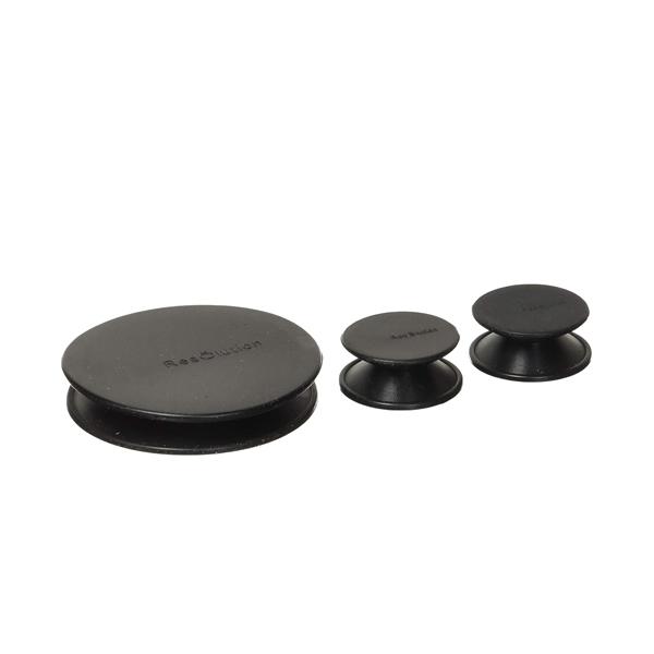 Three Res Caps in Black