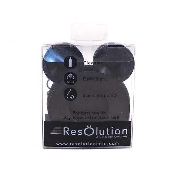 Resolution Res Caps in packaging
