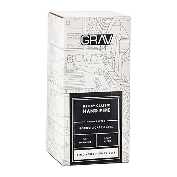GRAV Helix Classic Pipe packaging.