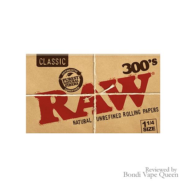 Raw Organic Hemp 300's (1 ¼) Rolling Papers