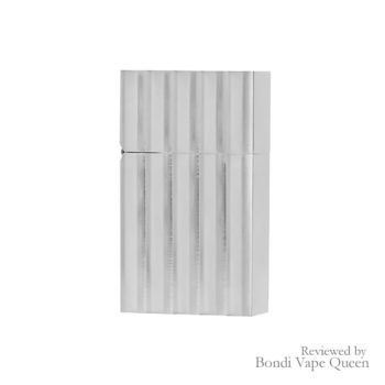 Tsubota Pearl Hard Edge Lighter - Aluminium Wave